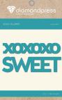 Diamond Press Word Dies - Sweet XOXO