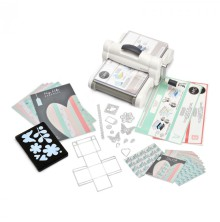 Sizzix Big Shot Plus Starter Kit with My Life Handmade Cardstock & Fabric