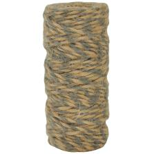 Kaisercraft Lucky Dip Jute Cord - Double-Colour Gray