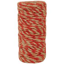 Kaisercraft Lucky Dip Jute Cord - Double-Colour Red