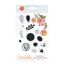 Tonic Studios Bunched Bouquet Stamp Set – Modern Buttonhole 1362E
