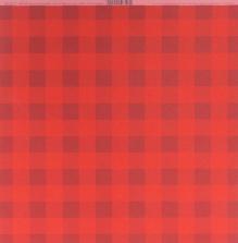 Bazzill Plaid Cardstock 12X12 - Wax Lips
