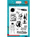 Carta Bella Stamps 4X6 - Space Pilot