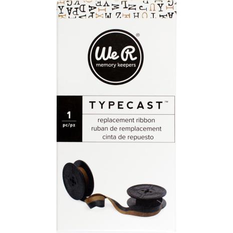 We R Memory Keepers Typecast Typewriter Ribbon - Brown/Black