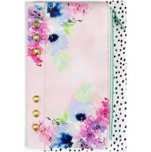 Prima Marketing My Prima Planner Zippered Pen & Pencil Bag 4X8 - Floral