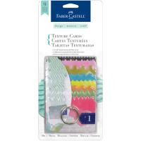 Faber Castell Mixed Media Texture Cards 8/Pkg