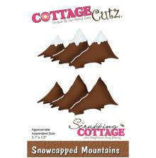 CottageCutz Die - Snowcapped Mountains