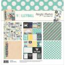 Simple Stories Simple Sets Collection Kit 12X12 - Volleyball