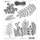 Dyan Reaveley's Dylusions Cling Stamp Collections 8.5X7 - Oodles Of Foliage