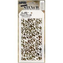 Tim Holtz Layered Stencil 4.125X8.5 - Heartstruck