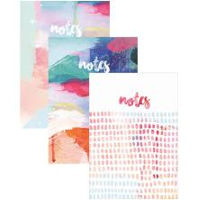 Kaisercraft Notebooks 6X8 3/Pkg - Artist