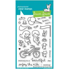 Lawn Fawn Clear Stamps 4X6 - Bicycle Built For You