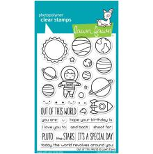 Lawn Fawn Clear Stamps 4X6 - Out Of This World