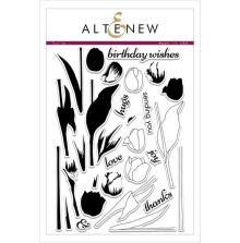Altenew Clear Stamp 6X8 28/Pkg - Tulips