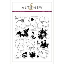 Altenew Clear Stamp 23/Pkg - Hibiscus Bouquet