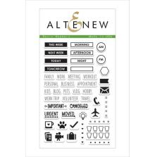 Altenew Clear Stamp 46/Pkg - Basic Headers