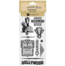 Graphic 45 Cling Stamps - Hollywood Stamps 3
