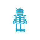 Tonic Studios Rococo Kids – Toy Robot 1470E
