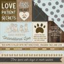 Kaisercraft Pawfect Double-Sided Cardstock 12X12 - Ruff