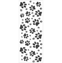 Kaisercraft Texture Clear Stamps 2X5 - Paw Prints