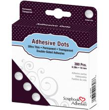 Scrapbook Adhesives 3L Adhesive Dodz 10 mm 300/Pkg - Ultra Thin