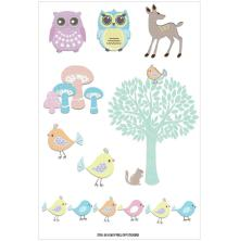 FabScraps Stickers - Woodland Friends