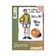 Sheena Douglass Remember When A6 Rubber Stamp - Back of the Net