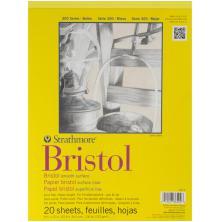 Strathmore Bristol Smooth Paper Pad 9X12