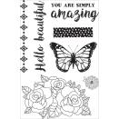 Kaisercraft Clear Stamps 6X4 - Indigo Skies