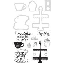 Kaisercraft Dies & Stamps - Sweeter Friendship