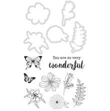 Kaisercraft Dies & Stamps - Floral Wonder