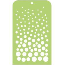 Kaisercraft Mini Designer Templates 3.5X5.75 - Rising Bubbles