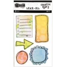 Dyan Reaveleys Dylusions Creative Dyary Stick Its