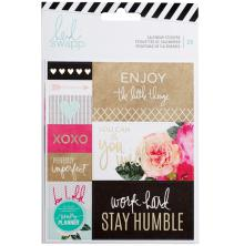 Heidi Swapp Memory Planner Stickers 2/Pkg - Calendar