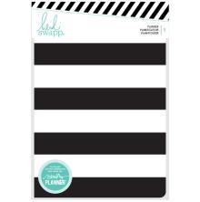 Heidi Swapp Personal Memory Planner - Black & White Stripe