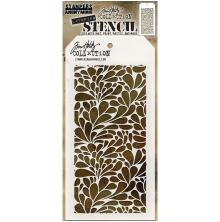 Tim Holtz Layered Stencil 4.125X8.5 - Splash