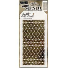 Tim Holtz Layered Stencil 4.125X8.5 - Diamonds