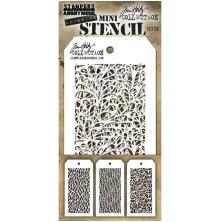 Tim Holtz Mini Layered Stencil Set 3/Pkg - Set 26