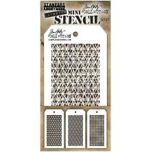 Tim Holtz Mini Layered Stencil Set 3/Pkg - Set 27