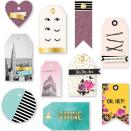We R Memory Keepers Layered Tags 10/Pkg - Urban Chic