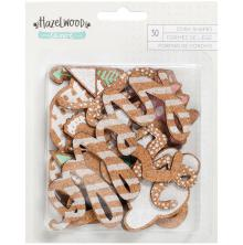 One Canoe Two Cork Die-Cuts 30/Pkg - Hazelwood