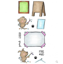 Inky Antics Clear Stamp Set - Artist Critters