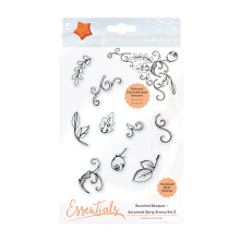Tonic Studios Essentials – Bunched Bouquet Autumnal Sprig Stamp Set 2 1364E