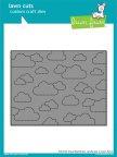 Lawn Fawn Custom Craft Dies -  Stitched Cloud Backdrop: Landscape