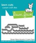 Lawn Fawn Custom Craft Dies - Ocean Wave Accents