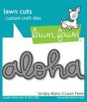 Lawn Fawn Custom Craft Dies - Scripty Aloha