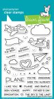 Lawn Fawn Clear Stamps 4X6 - Plane & Simple
