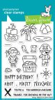 Lawn Fawn Clear Stamps 4X6 - Ahoy, Matey