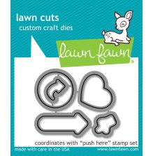 Lawn Cuts Custom Craft Die - Push Here