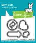 Lawn Cuts Custom Craft Die - Push Here